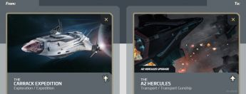 Carrack Expedition to A2 Hercules Upgrade