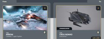 Arrow to Nomad Upgrade