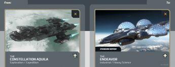 Aquila to Endeavor Upgrade