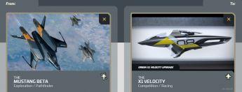 Mustang Beta to X1 Velocity Upgrade