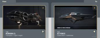 Aurora CL to X1 Force Upgrade