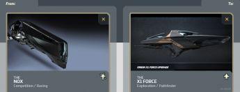 Nox to X1 Force Upgrade