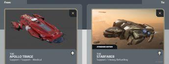 Apollo Triage to Starfarer Upgrade