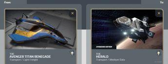 Avenger Titan Renegade to Herald Upgrade
