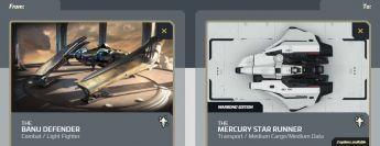 Flash Sale >  Defender to Mercury Star Runner Upgrade Warbond