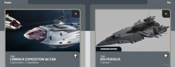 Carrack Expedition W/ C8X to Perseus Upgrade