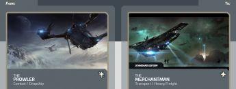 Prowler to Merchantman Upgrade