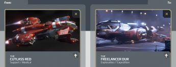 Cutlass Red to Freelancer DUR Upgrade