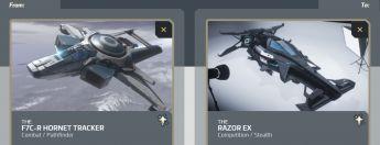 F7C-R Hornet Tracker to Razor EX Upgrade