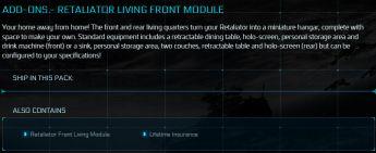 Retaliator Living Front Module LTI