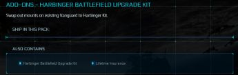 Harbinger Battlefield Upgrade Kit LTI