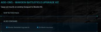 Warden Battlefield Upgrade Kit 24 Month Insurance