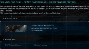 Caterpillar Pirate Swarm Edition LTI Original Concept
