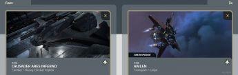 Ares Inferno to Railen Upgrade