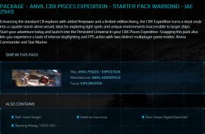 C8X Pisces Expedition LTI Starter Pack