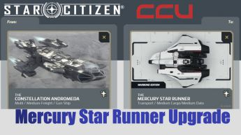 Flash Sale > A CCU Upgrade: Constellation Andromeda to Mercury Star Runner