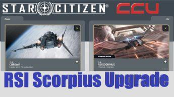 A CCU Upgrade - Drake Corsair to RSI Scorpius