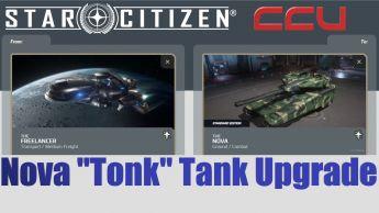 "A CCU Upgrade - MISC Freelancer to Tumbril Nova ""Tonk"" Tank"
