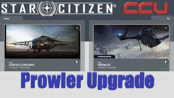A CCU Upgrade - Genesis Starliner to Esperia Prowler