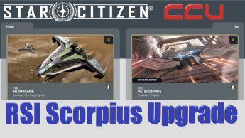A CCU Upgrade - Anvil Hurricane to RSI Scorpius