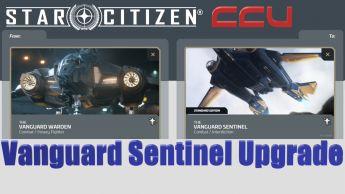 A CCU Upgrade - Aegis Vanguard Warden to Vanguard Sentinel