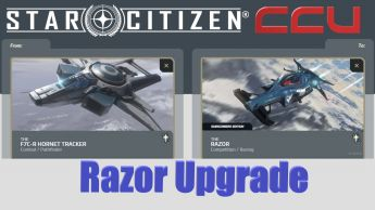 A CCU Upgrade - F7C-R Hornet Tracker to MISC Razor Subscriber Exclusive w/ 12 Mo. Insurance