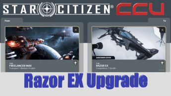 A CCU Upgrade - MISC Freelancer MAX to MISC Razor EX Subscriber Exclusive w/ 12 Mo. Insurance