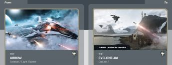 Arrow to Cyclone-AA Upgrade