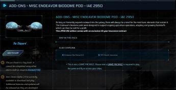 Biodome Pod Module 10yrs Ins - IAE 2950