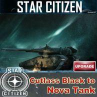 Cutlass Black to Nova Tank UPGRADE (CCU)