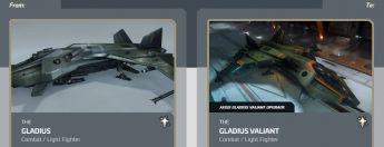 Gladius To Gladius Valiant Upgrade