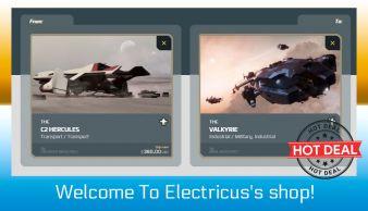 C2 Hercules to Valkyrie Upgrade CCU