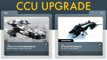 A CCU Upgrade - RSI Constellation Andromeda to Aegis Retaliator Bomber