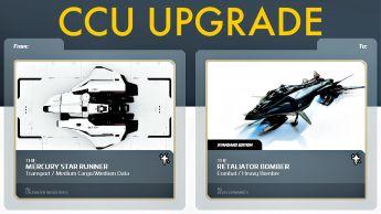 A CCU Upgrade - Mercury Star Runner to Aegis Retaliator Bomber
