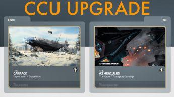 A CCU Upgrade - Carrack to A2 Hercules