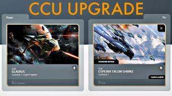 A CCU Upgrade - Gladius to Esperia Talon Shrike