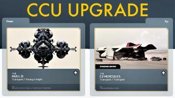 A CCU Upgrade - MISC Hull D to C2 Hercules Starlifter