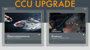 A CCU Upgrade - Carrack Expedition with C8X to A2 Hercules