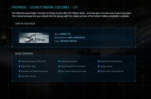 Game Package - Legacy Digital Colonel LTI - F7C Hornet