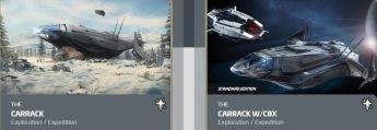 Carrack to Carrack w/ C8X Expedition CCU