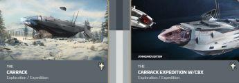 Carrack to Carrack Expedition w/ C8X Expedition CCU