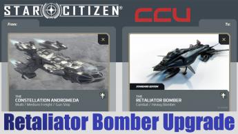 A CCU Upgrade - RSI Constellation Andromeda to Retaliator Bomber