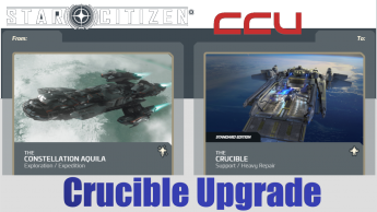 A CCU Upgrade - RSI Constellation Aquila to Anvil Crucible