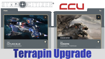 A CCU Upgrade - Drake Cutlass Blue to Anvil Terrapin