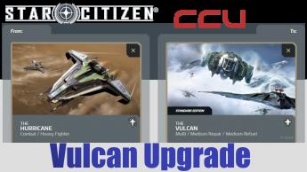 A CCU Upgrade - Anvil Hurricane to Aegis Vulcan
