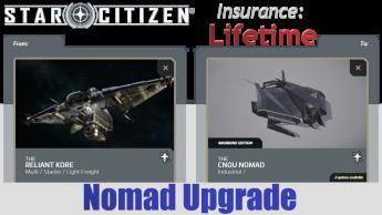 A CCU Upgrade - MISC Reliant Kore to CNOU Nomad (LTI)