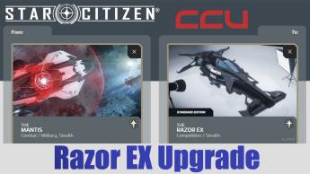 A CCU Upgrade - RSI Mantis to MISC Razor EX