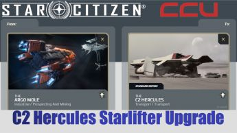 A CCU Upgrade - Argo Mole to C2 Hercules Starlifter