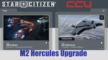 A CCU Upgrade - Argo Mole to M2 Hercules Starlifter