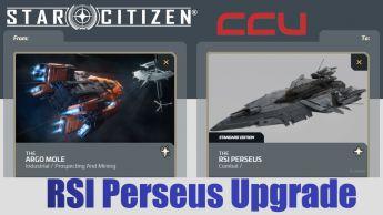 A CCU Upgrade - Argo Mole to RSI Perseus